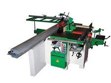 Combinata per legno a 7 lavorazioni con pialla larga 310 mm, sega da 315 mm