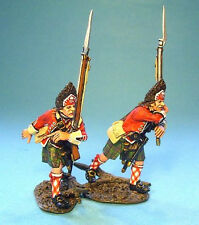 42nd Regiment -2 Grenadiers Attacking - John Jenkins #TIC-21 French & Indian War