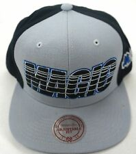 NBA Orlando Magic Mitchell and Ness Snapback Adjustable Fit Cap Hat M&N NEW!