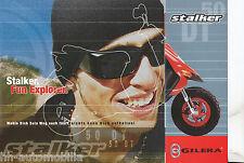 Gilera Stalker 50 DT Prospekt 2003 brochure scooter Motorroller Broschüre Italia