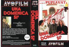 UNA DOMENICA Sì (1987) VHS
