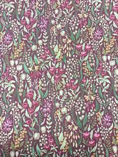 SMD Iliv Kelmscott Claret Cotton Print Fabric By The Metre