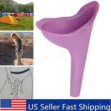She Wee Female Ladies Womens Portable Urinal Urine Funnel Camping Travel Toilet