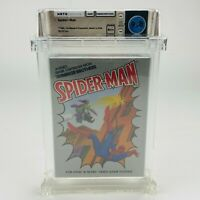 Spider-Man - Atari 2600 1982 Upside-down Variant Graded Sealed  WATA 9.8 A++ WOW
