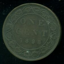 1898H Canada Large Cent, Queen Victoria   O151