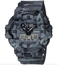 Casio G-Shock * GA700CM-8A Front Button Camo Grey Resin for Men COD PayPal