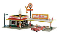 Woodland Scenics N PF5208 D's Diner, Pre-Fab Building Kit. New