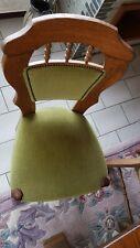 Lot de 6 chaises de salle à manger en chêne massif