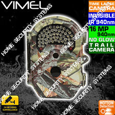 Trail Camera  Wireless Security Cam Home Guard 940nm IR Time Lapse Waterproof