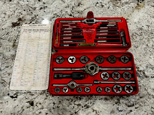 SNAP-ON TOOLS METRIC TAP & DIE SET - MADE IN USA - TDM-117A