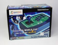 NEW VINTAGE THRUSTMASTER 2002 FIFA WORLD CUP ARCADE STICK FOR PS2 PS1
