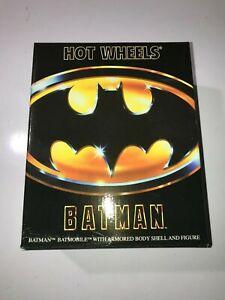 SDCC 2019 Mattel Hot Wheels Armored Batmobile Batman 1989 NEW! read