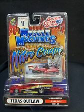Muscle Machines Nitro Coupe Texas Outlaw '63 Corvette Jerry Hicks 1:64 2004