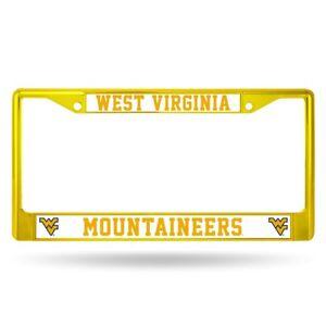WVU Pinwheel Design Metal Souvenir License Plate SVWVU0207