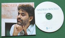 Andrea Bocelli Cieli di Toscano inc E Sara A Settembre (Someone Like You) CD