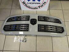 DODGE RAM 1500 Sport Grill Assembly Unpainted With Black Ram Emblem OEM MOPAR