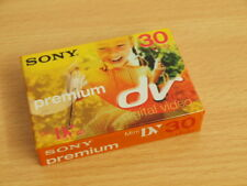 1 Stück Sony MiniDV Videokassette Mini DV ME Premium 30 Minuten (LP: 45 Minuten)