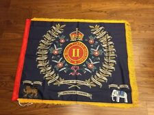 Royal Dublin Fusiliers Regimental Colours 2nd Battalion Fringed flag