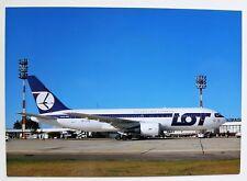 LOT Polish Airlines Boeing 767-25D(ER) postcard