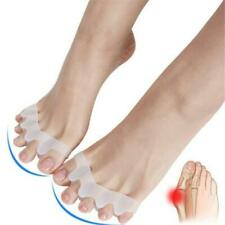 Gel Bunion Corrector Toe Protectors Straightener Seperators Spreader AA