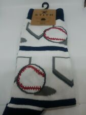 Sock Baseball Socks by N.Y.C. One Size Fits Most Out to the Ballgame SHIPS FREE