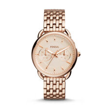 ES3713 New Genuine Fossil Tailor Rose Stainless Steel Bracelet Watch RRP £149