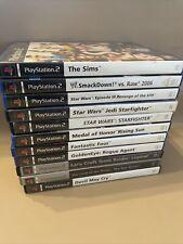 Konvolut von 11 Playstation 2 Spiele Erwachsene spielen verschiedene Titel