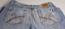 BUCKLE BKE STAR 20 STRETCH LIGHT DISTRESSED 100% COTTON JEANS SZ 29 x 33/34