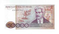50000 Cruzeiros Brasilien UNC 1985 C174 / P.204c Brazil Banknote