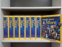 Find Out More Eaglemoss 1995 158 Magazines in 8 Binders ID7072