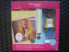American Girl Julie Mini Doll With Stand & 3 Books-New In A Boxed Set