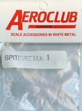 Aeroclub 1:72 Spitfire Mk.1 Canopy Vacform Detail Set