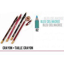 CRAYON BLEU CIEL 2 EN 1 LEVRE ET YEUX AVEC TAILLE CRAYON YES LOVE