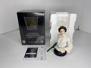 Star Wars Gentle Giant Princess Leia Organa Mini Bust A New Hope 0759/6000 COA