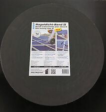 (1,45€/m)SIGA Nageldichtband II-50 mm x 4 mm x 30m Schlagregensicheres Dichtband