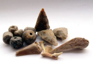 A collection of Prehistoric finds and artefacts