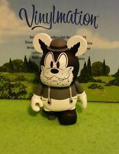 """Disney Vinylmation Park 3"""" Classic Collection Set 1 Black & White Peg leg Pete"""