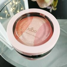 Women Mineral Blusher Palette Baked Cheek 3Shades Blush Makeup Cosmetic Powder
