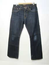 Nudie Jeans Straight Dry Selvage Jeans Men's 32 x 32