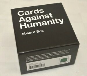 Cards Against Humanity - Absurd Expansion Pack Box Adult Party Game Add On