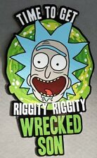 "6.5"" x 4"" Time To Get Riggity Riggity Wrecked Son Vinyl Sticker"