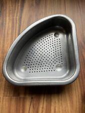 New listing Antique Flint Stainless Steel Sink Colander For Food Scraps. Vgc.
