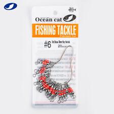 Ocean Cat T-Turn Three 3Way Fishing Swivel Brass Barrel Triple Swivel Cross Line
