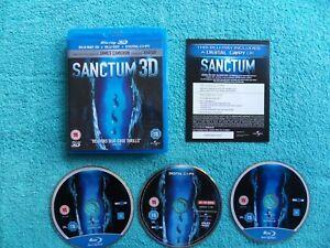 SANCTUM 3D - 3 disc set - james cameron - blu-ray