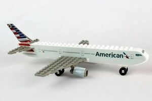 American Airlines Construction block toy 55 pieces