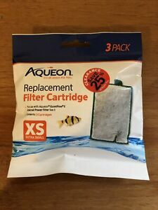 Aqueon Filter Cartridge X-Small 3pk  Free Shipping