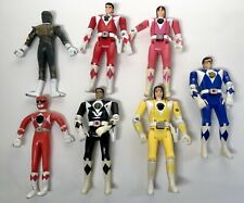 Mighty Morphin Power Rangers Red Ranger auto morphin flip head bendy lot