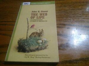 The Web of Life - John H. Storer - PB - 1963 - Mentor Books - Illustrated.