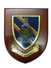 Royal Marines Military Wall Plaque UK Made for MOD Regimental