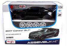 Maisto 1:24 2017 Chevrolet Camaro ZL1 Assembly DIY Car Diecast MODEL KITS